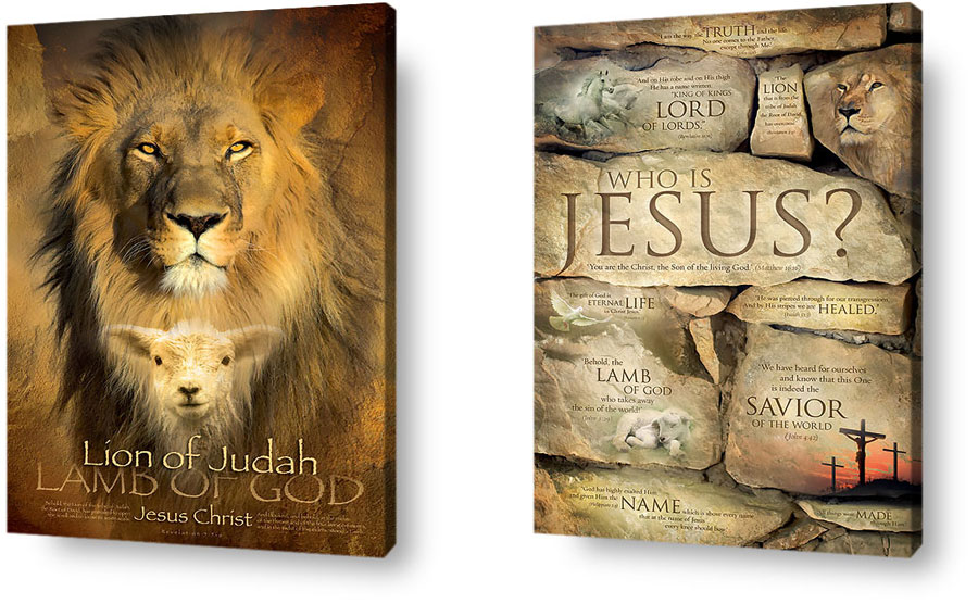 Book Jacket Wall Art : Lion of judah lamb god pixshark images