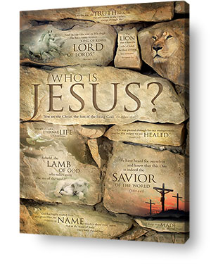 christian wall art decor canvas - jesus