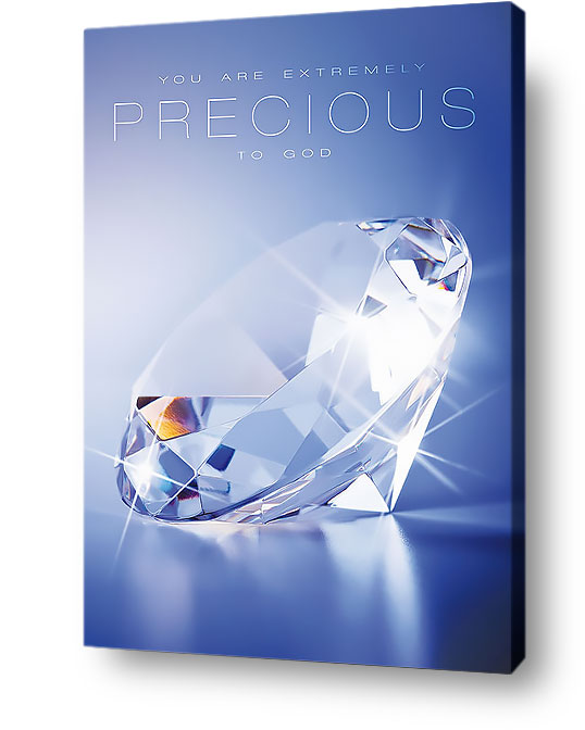 Christian wall art - You are extremely precious to God