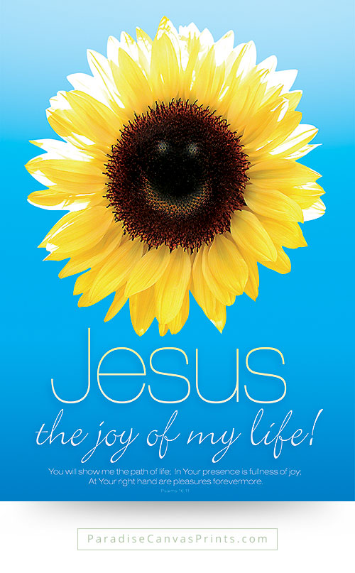 Christian wall art - Jesus is the joy of my life