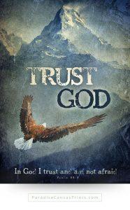 Christian wall art - Trust God