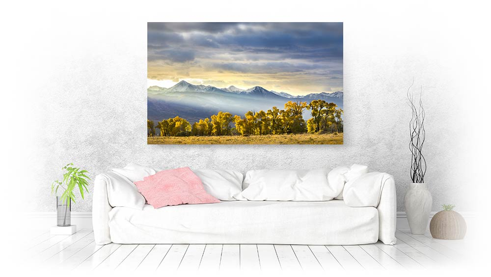 mountain wall art
