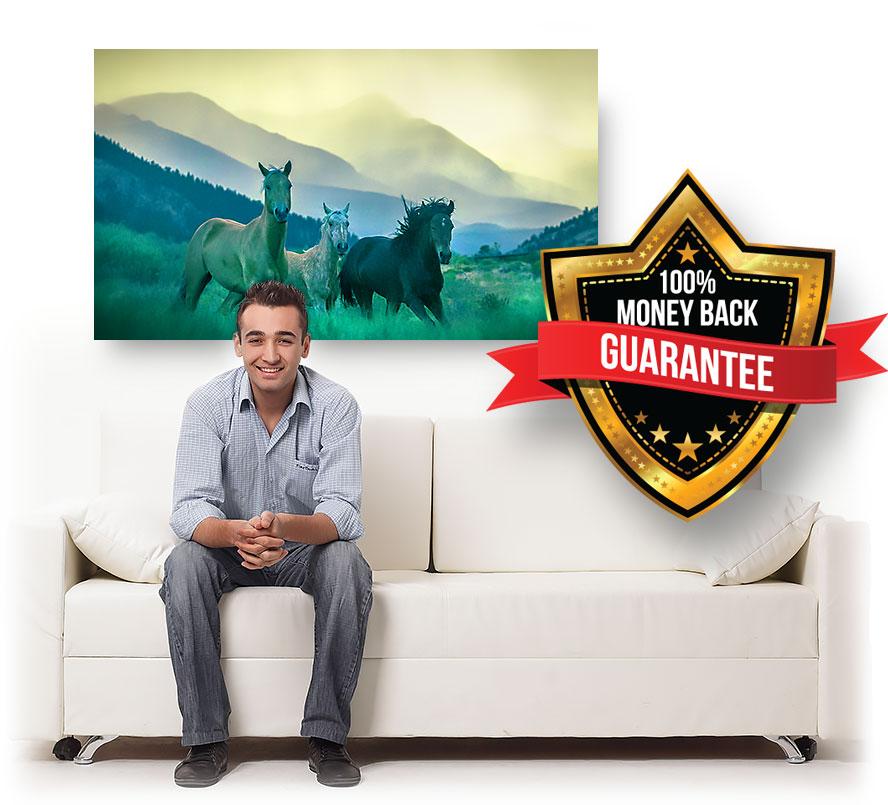 nature canvas prints wall art money back guarantee