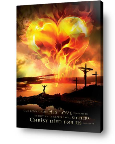 Christian wall art decor - God's love for sinners